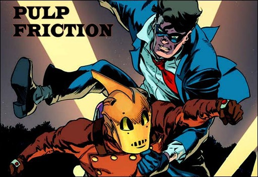 The Rocketeer/The Spirit: Pulp Friction! #1