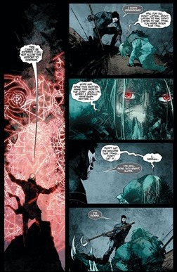Shadowman #9 Preview 1