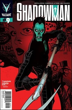 Shadowman #9 Variant Cover - Robinson