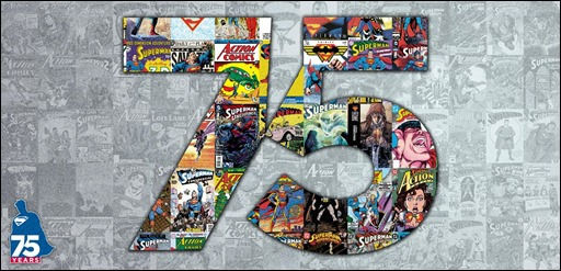 Superman 75th Anniversary Banner