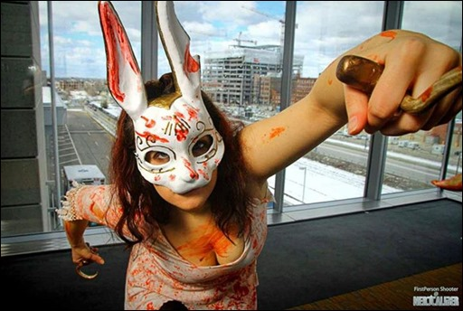 Marie Grey as Spider Splicer from Bioshock (Photo: FirstPerson Shooter)