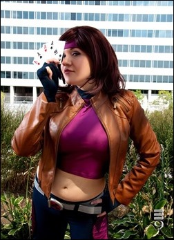 Marie Grey as Gambit (Photo: M9 Cosplay)