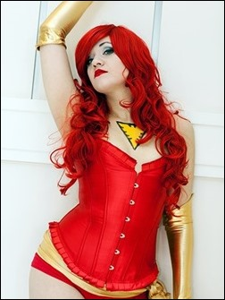 Marie Grey as Dark Phoenix (Photo: Coolsteel27)
