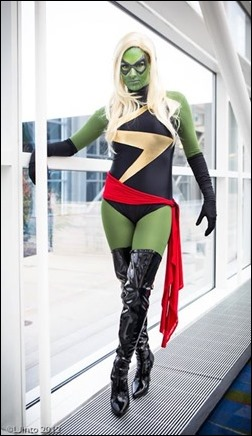 Kearstin Nicholson as Skrull Ms. Marvel