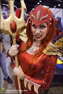 Kearstin Nicholson as Red Lantern Mera
