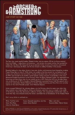Archer & Armstrong #12 Preview 1