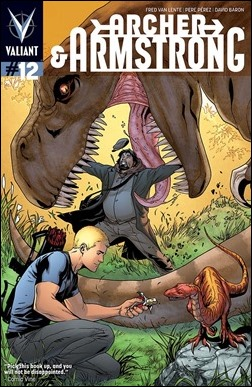 Archer & Armstrong #12 Cover