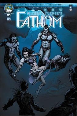 All New Fathom #2 Cover - Konat