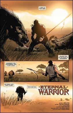 Eternal Warrior #1 Preview 1
