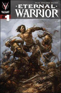 Eternal Warrior #1 Cover - Crain
