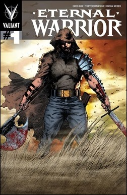 Eternal Warrior #1 Pullbox Cover - Hairsine