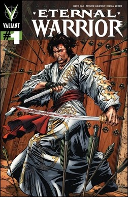 Eternal Warrior #1 Variant Cover - Zircher