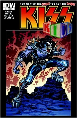 KISS Kids #1 Cover
