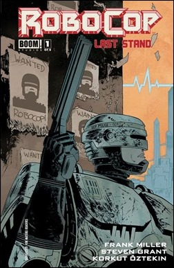 RoboCop: Last Stand #1 Cover