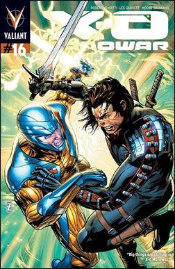 X-O Manowar #16 Cover