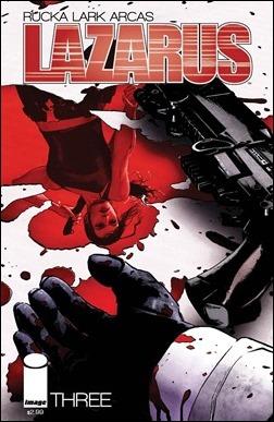 Lazarus #3 Cover
