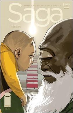 Saga #13 Cover