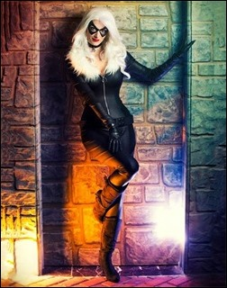 Katie George as Black Cat (Photo by Martin Wong)