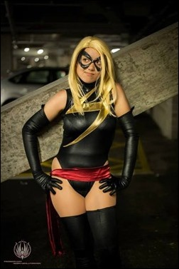 Anna S as Ms. Marvel (photo by So Say We All)