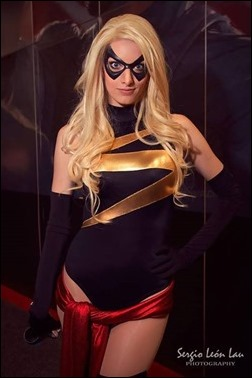 Katie George as Ms. Marvel (Photo by Sergio Leon Lau Photography)