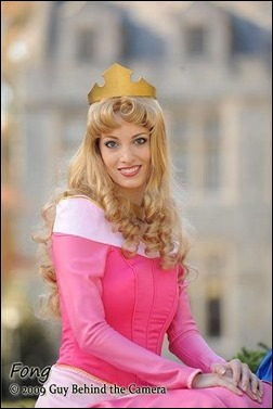 Katie George as Princess Aurora (Photo by Fong - Guy Behind the Camera)