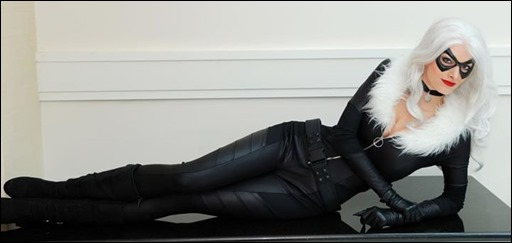 Katie George as Black Cat (Photo by Paul Tien)