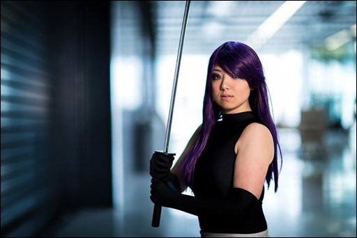 Anna S as Psylocke (photo by Kamil Kurylonek)