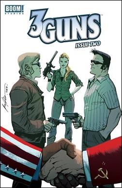 3 Guns #2 Cover