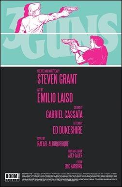 3 Guns #2 Preview 1