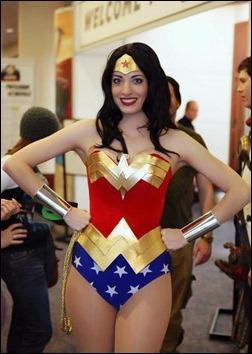 Katie George as Wonder Woman