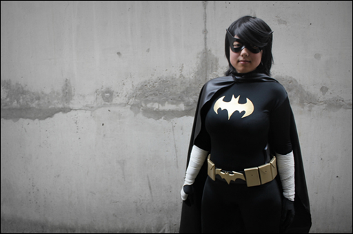 Anna S as Black Bat/Cassandra Cain (photo by Clair Honeybadger)