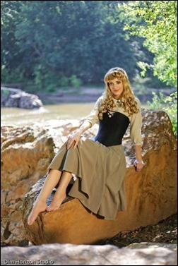 Katie George as Sleeping Beauty (Photo by Dim Horizon Studio)