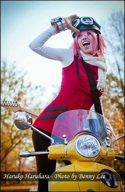 Katie George as Haruko Haruhara (Photo by Benny Lee Photography)