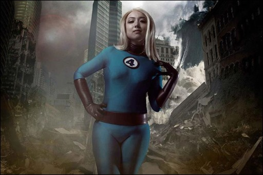 Anna S as Sue Storm (photo by David Sheldrick)