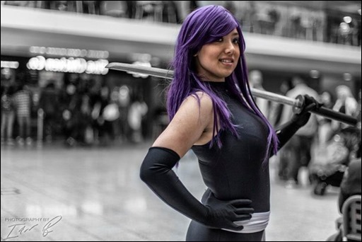 Anna S as Psylocke (photo by Ian Blyth)