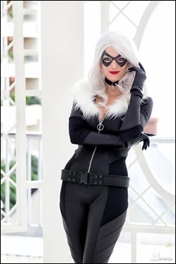 Katie George as Black Cat (Photo by JwaiDesign Photography)
