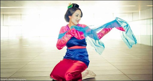 Anna S - Mulan cosplay (photo by Sonesh Joshi Photography)