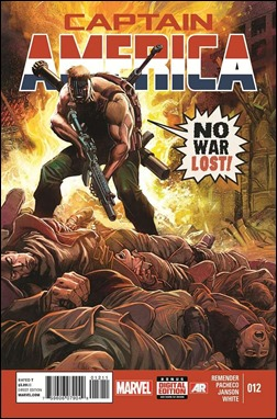 Captain America #12 Cover