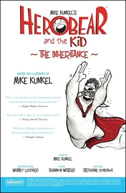 Herobear and The Kid #2: The Inheritance Preview 1