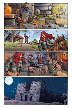 Legends of Red Sonja #1 Preview 4