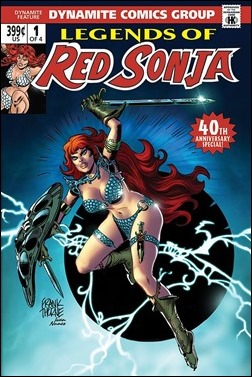 Legends of Red Sonja #1 Cover - Subscription
