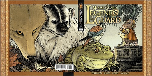 Mouse Guard: Legends of the Guard Vol. 2 #2 Wraparound Cover