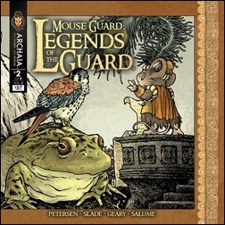 Mouse Guard: Legends of the Guard Vol. 2 #2 Front Cover