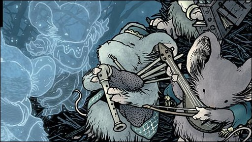 Mouse Guard Legends of the Guard v2 003