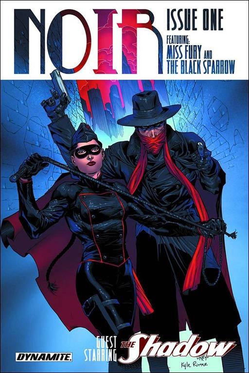 Noir #1 Cover