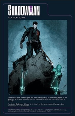 Shadowman #11 Preview 1