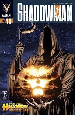 Shadowman #11 Cover
