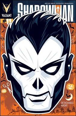 Shadowman #11 mask variant Cover