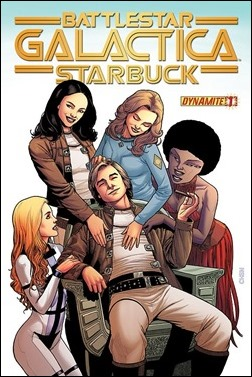Battlestar Galactica: Starbuck #1 Cover