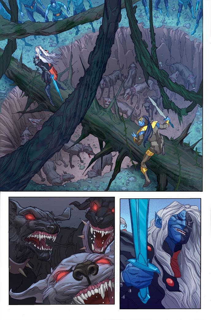 first look at thor  god of thunder  14 by jason aaron  u0026 ron garney